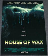 HOUSE OF WAX 2005 ORIGINAL 11x17 NM MOVIE POSTER! PARIS HILTON MELTING HORROR!