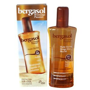 Bergasol SPF 10 Dry Oil Body 125ml