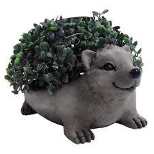 Gardenwize Solar Powered Hedgehog Garden Bay Ball Tree Plant Holder Ornament