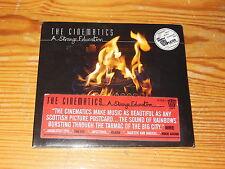 THE CINEMATICS - A STRANGE EDUCATION / DIGIPACK-CD 2007 OVP! SEALED!