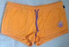 Converse All Star Orange Chuck Taylor French Terry Shorts Hot Pants XL 14 16 34