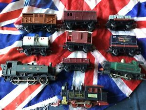 triang hornby job lot Collection Of Old Toy Trains Model Railway Engines