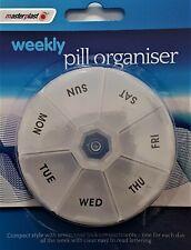 7 Day Pill Weekly Box Medicine Tablet Holder Organizer Storage Travel Pack