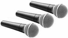 3 Pack - Shure SM58-LC Dynamic/Vocal Microphones