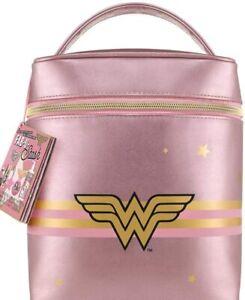 Soap & Glory Wonder Woman Fab-U-Stash ChristMas Gift Set Vanity Case Make-up Bag