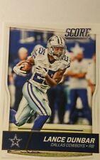 NFL Trading Card Lance Dunbar Dallas Cowboys Score 2016 Panini