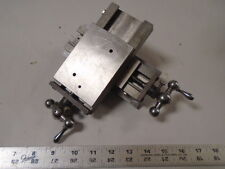 MACHINIST LATHE Precision Russell T Gilman Compound Slide for Jewelers Lathe