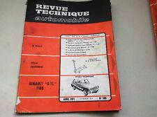 REVUE TECHNIQUE N° 300  - RENAULT 6 TL 1100 - 1971 *