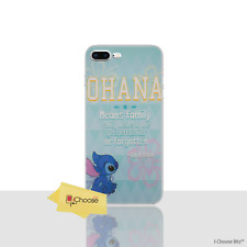 Lilo & Stitch Ohana Case for Apple iPhone 7 PLUS 5.5 Inch Screen Protector Cover