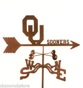 University of Oklahoma Weathervane - Sooners - with Choice of Mount