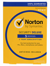 Symantec SecurityDeluxe3.0 (Box) (5) - Vollversion für Mac, Windows 21355368