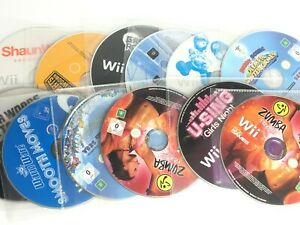 Wii Game - All Disc Only - *Choose a Game or Bundle Up*