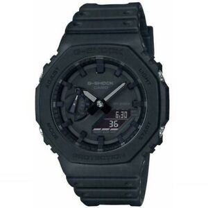 Casio G-Shock GA-2100-1A1ER - Black (CasiOak) Carbon Core Guard Watch GIFT AU