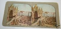 Vintage Antique 1900's Facade Of St. Mark's Venice Italy Photo Stereoview Rare