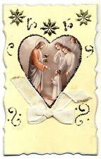 CPA Fantaisie Religion Souvenir de Première Communion fantasy postcard