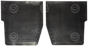 Porsche 356 B T6 356 C (62-65) late rear rubber mat pair. Replaces 64455112106