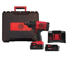 "Chicago Pneumatic 8848K 1/2""DR  20V IMPACT WRENCH 775FTLB 2 Battery 4.0AH France"