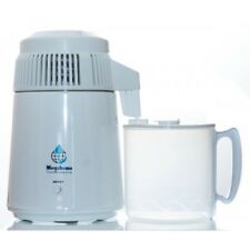 Megahome presupuesto Jarra de agua destilador con Polyprop Blanco UK 3 Pin Enchufe