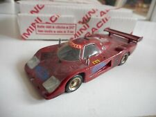 Mini Racing Ford C 100 Le Mans 1982 in Red on 1:43 in Box