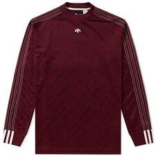 Alexander Wang Adidas Longsleeve Soccer Tee Maroon Sz. M Medium Deadstock