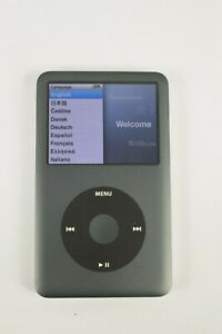 Apple iPod Classic Black Grey Late 2009 Model A1238 160GB Storage Used Condition