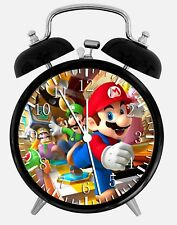 "Super Mario Games Alarm Desk Clock 3.75"" Home or Office Decor Z41 Nice For Gift"