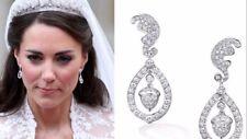 Kate Middleton Acorn Diamond Wedding Earrings  #1-04