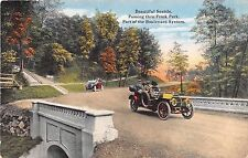 Washington postcard Seattle Passing thru Frink Park part of the Boulevard System