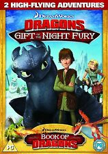 DRAGONS ---2 NEW ADVENTURES --DVD  BRAND NEW  CHRISTMAS GIFT