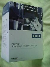2- HID Fargo Smartload Full Color YMCKO Ribbon Cartridge 045000 for DTC1000