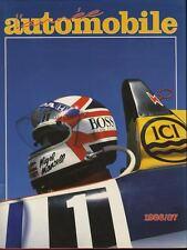 L'année automobile n°34 1986-1987