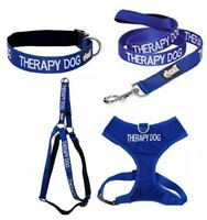 Colour Coded Dog Warning Awareness - THERAPY DOG Harnesses Leads Collars Coats