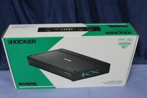 Kicker KXMA800.8 Marine Amplifier 8 Channel 800 Watts RMS Sealed Controls NIB