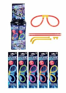 Neon Glow Stick Glasses Party Bag Fillers Neon Parties - Packs of 1-24