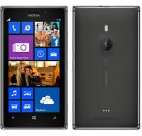 NOKIA LUMIA 925 Unlocked Black 16gb DualCore 8mp Camera Windows Phone Smartphone