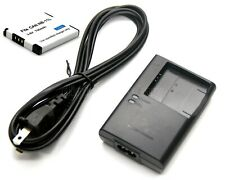 Battery + Charger for Canon Powershot ELPH 110 HS 320 HS 340 HS 115 IS 120 IS