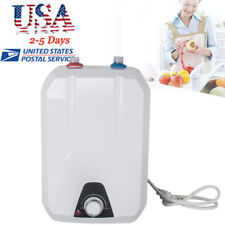 Us 8L Electric Tankless Hot Water Heater 55℃-75℃ Winter Household Kitchen Winter