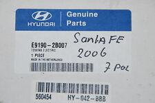 ORIGINAL HYUNDAI E91902B007 E9190-2B007 E-SET ATTELAGE DE REMORQUE AHK SANTA FE