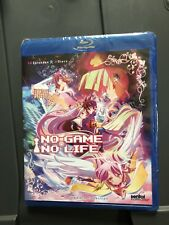 No Game No Life - Complete Anime Series Collection (Brand New 2-Disc Blu Ray Set