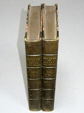 MEMOIRS of HENRY The GREAT (1824) 2 Vols. 1st Ed. VG Leather bound W. H. Ireland