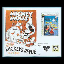 Antigua, Sc #1730, Mnh, 1993, S/S, Mickey's Revue, The Simple Things, Di325