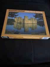 Bodiam Castle 1000 Piece Jigsaw Puzzle