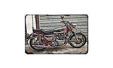 Ariel Huntmaster Motorbike A4 photo Retro Bike