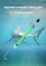 Automatic Fishing Hook Trigger Stainless Steel Spring Fishhook Full Speed Tackle