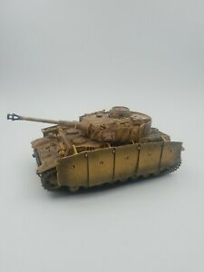 RARE Forces Of Valor 1:32 German Panzer IV Tank Eastern Front, 1943 Unimax