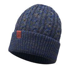 Buff Leisure Braidy Knitted Beanie Hat Mineral Moss