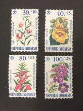 Indonesia Flowers, Mint, NH, OG