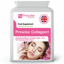 Pure Marine Collagen 60 Capsules. For Skin, Hair, Nails, Bones & Joint Health.