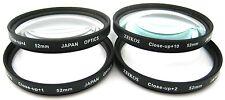 Hi Def +1+2+4+10 New 4PC Close-Up Macro Lens Set For Panasonic Lumix DMC-GX1K