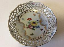 Panière ajourée en porcelaine dure Royal Crown Royaume-Uni XIXe United Kingdom